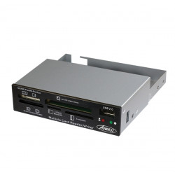 Rack 3.5 Advance CR-10INT Lecteur multi cartes + 1 Ports USB 2.0
