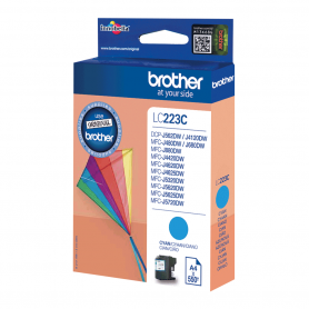 Cartouche Brother LC223C Bleu 550 pages