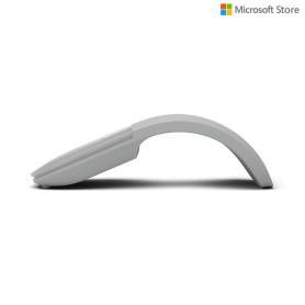 Souris Microsoft Surface Arc Mouse Bluetooth 4.0 gris clair