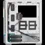 Boitier Corsair iCUE 220T RGB Airflow Blanc ATX USB 3.0 BTCO220T-RGB-W - 1