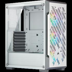 Boitier Corsair iCUE 220T RGB Airflow Blanc ATX USB 3.0 BTCO220T-RGB-W - 2