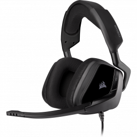Micro Casque Corsair VOID ELITE SURROUND 7.1 USB Gaming Carbone