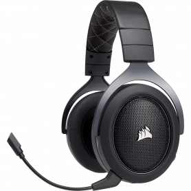 Micro Casque Corsair HS70 PRO WIRELESS 7.1 Carbone Gaming