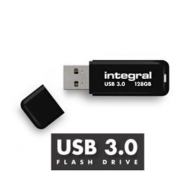 Clef USB 3.0 128Go Integral Noir