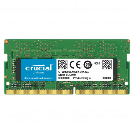 DDR4 Portable 8Go 2666 Mhz Crucial CT8G4SFS8266 1.2V CL19