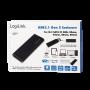 Boitier Externe USB 3.1 Type-C M.2 SATA LogiLink UA0314 BOEXM.2LL-UA0314 - 5
