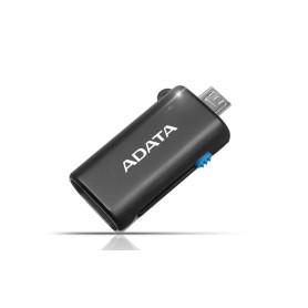 Mini Lecteur de Carte ADATA USB/micro USB vers MicroSD LECA-DAOTGMRBK - 1