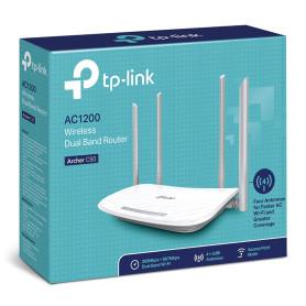Routeur TP-Link Archer C50 AC1200 Wifi Dual-Band 4 Ports 10/100