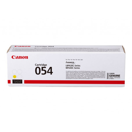 Toner Canon 054 H Yellow 2300 pages MF64X/LBP62X TONERCA054YEH - 1