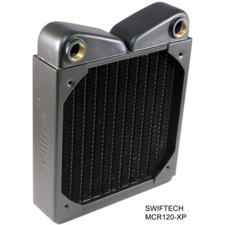 Radiateur Swiftech MCR120-XP Cuivre 1 x 120mm Noir