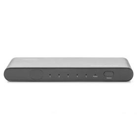 Switch HDMI Digitus DS-45317 5 Ports Auto 4k 3840x2160