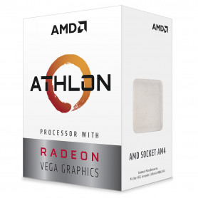Processeur AMD Athlon 3000G 3.5Ghz 4M 2Core Vega 3 35W AM4