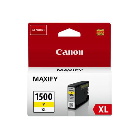 Cartouche Canon PGI-1500XL Yellow 780 pages