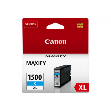 Cartouche Canon PGI-1500XL Cyan 780 pages CARTPGI1500XL-C - 2
