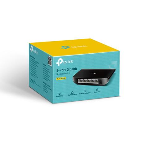 Switch RJ45 TP-Link TL-SG1005D 10/100/1000 Mbps 5 Ports SW_TL-SG1005D - 2
