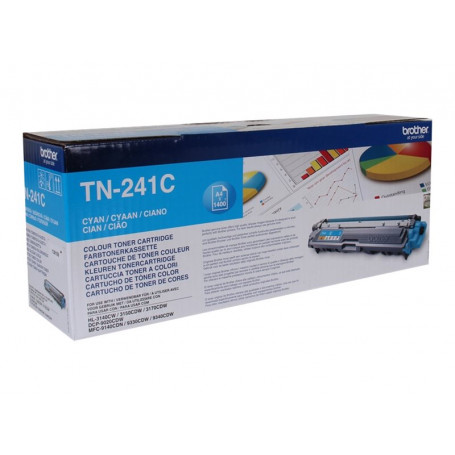 Toner Brother TN-241C Cyan 1400 pages