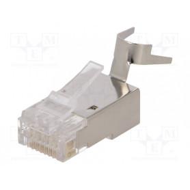 1x connecteur RJ45 C6/6A/7/7A Blindé LogiLink MP0033 CRJ45_C6_MP0033-1 - 1