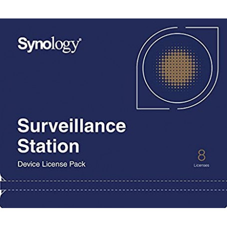 Synology - Pack licence 8 cameras NASSY_CAM_8 - 1