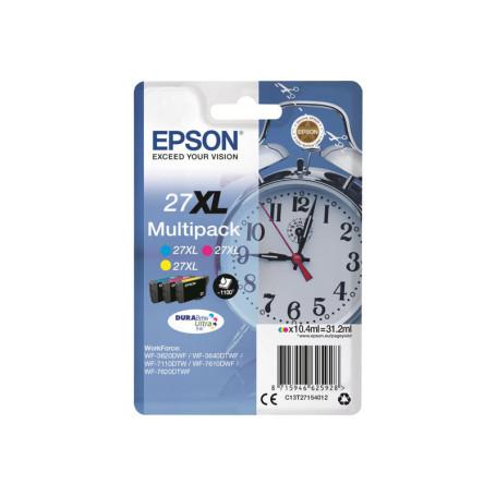 Cartouche Epson 27XL Multipack 3 Couleurs