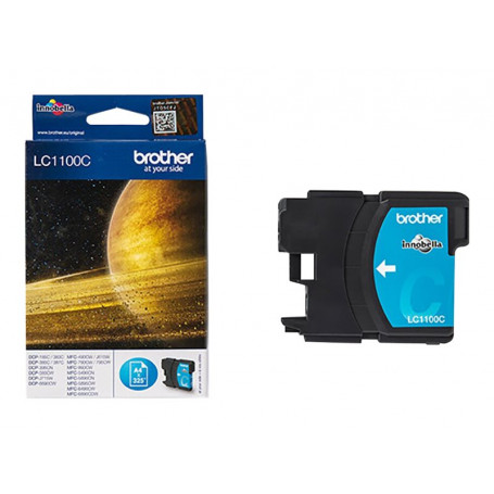 Cartouche Brother LC1100C Cyan 325 pages