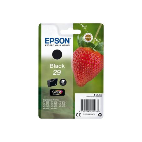 Cartouche Epson 29 Noir 175 pages XP-235/332/335/432/435 CARTEPT29NOIR - 1