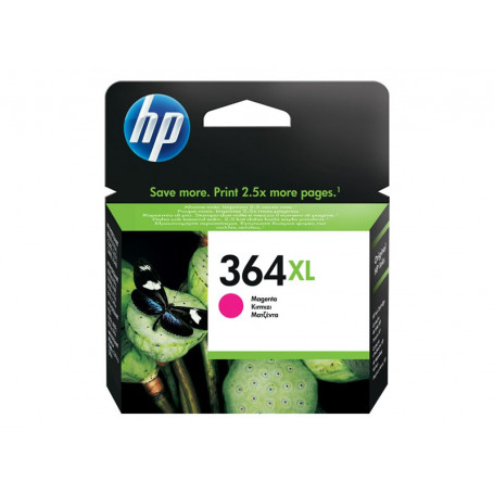 Cartouche HP 364 XL Magenta 750 pages CB324EE