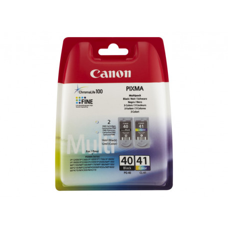 Pack Cartouche Canon PG40 + CL41