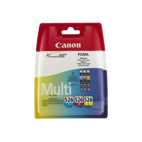 Cartouche Canon CLI-526 Pack 3 Couleurs