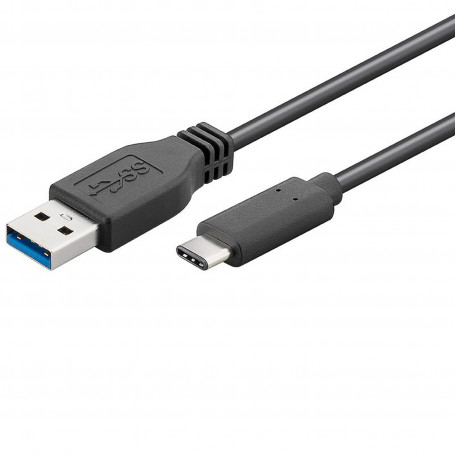Cable USB 3.1 type C vers A 3.0 1m