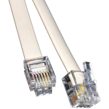 Cable RJ12 3M 6 fils