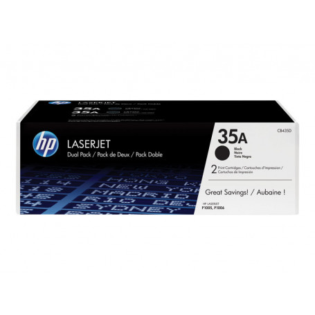Toner HP 35A Noir CB435A 1500 pages
