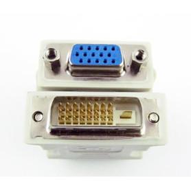 Adaptateur DVI Male vers VGA Femelle