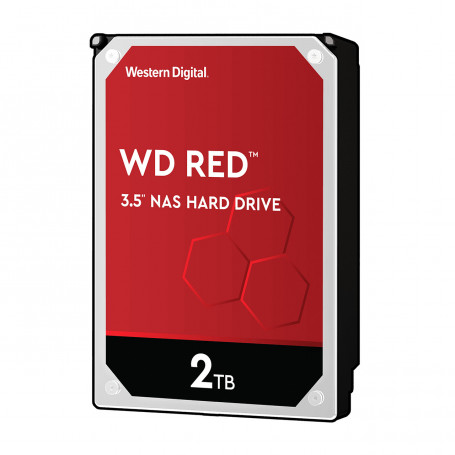 Disque Dur SATA 2To 256Mo WD RED WD20EFAX DD2TOWD20EFAX - 1