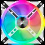 Ventilateur Corsair iCUE QL120 RGB Triple Pack Blanc 12cm VENCOQL120RGB-W-X3 - 5