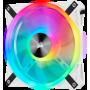 Ventilateur Corsair iCUE QL140 RGB Dual Pack Blanc 14cm  VENCOQL140RGB-W-X2 - 4