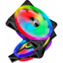 Ventilateur Corsair iCUE QL140 RGB Dual Pack 14cm  VENCOQL140RGB-X2 - 1