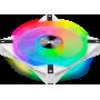 Ventilateur Corsair iCUE QL140 RGB Blanc 14cm VENCOQL140RGB-W - 1