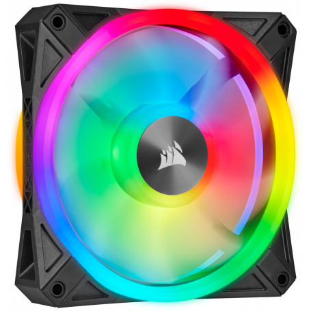 Ventilateur Corsair iCUE QL120 RGB 12cm VENCOQL120RGB - 2