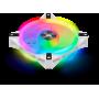 Ventilateur Corsair iCUE QL120 RGB Blanc 12cm VENCOQL120RGB-W - 1