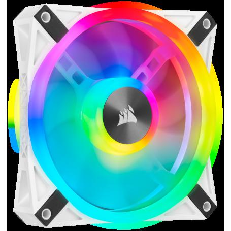 Ventilateur Corsair iCUE QL120 RGB Blanc 12cm VENCOQL120RGB-W - 2