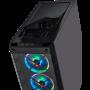 Boitier Corsair iCUE 465X RGB Noir ATX USB 3.0 BTCO465X-RGB-BK - 1
