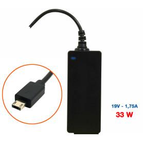 Chargeur PC Portable Asus 19V 1,75A 33W Connecteur 6P Square Tip