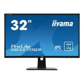 """Ecran iiyama 32"""" XB3270QS-B1 IPS 2560x1440 4ms DP HDMI DVI HP"""