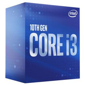 Processeur Intel Core i3 10100 3.6/4.3Ghz 6Mo 4Core 630 LGA1200 65W