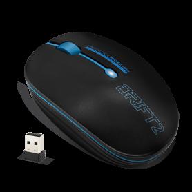 Souris Advance Drift 2 Blue 1600dpi Sans Fil USB