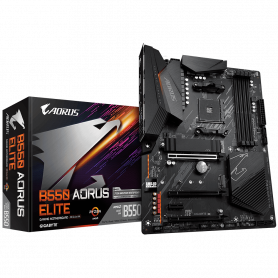 Carte Mère Gigabyte B550 AORUS ELITE ATX AM4 DDR4 USB3.2 M.2 DP HDMI