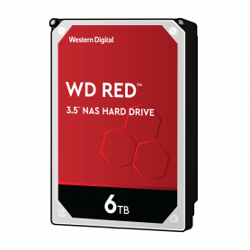 Disque Dur SATA 6Gb/s 6To IntelliPower 256Mo WD RED WD60EFAX NAS