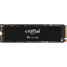 SSD 500Go Crucial P5 M.2 Type 2280 3400Mo/s 3000Mo/s NVMe PCIe