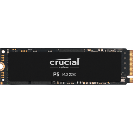 SSD 500Go Crucial P5 M.2 Type 2280 3400Mo/s 3000Mo/s NVMe PCIe SSD500_C_P5-M2 - 1