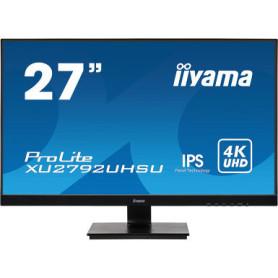 "Ecran iiyama 27"" XU2792UHSU-B1 IPS 3840x2160 75Hz 4ms DP HDMI VGA HP"